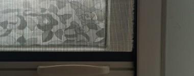 Muggenvrij huis met raamrolhorren van BUITEN!