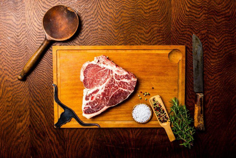 Texas Longhorn T-Bone Steak