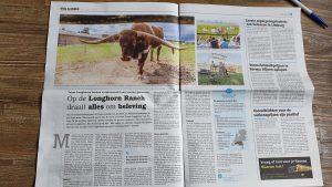 Artikel Stal en Akker, De Longhorn Ranch