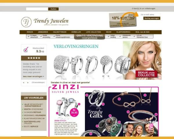 Trendy Juwelen – webwinkel