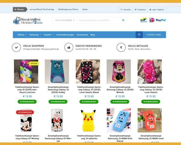 Smartphonehoesjes4u – webwinkel