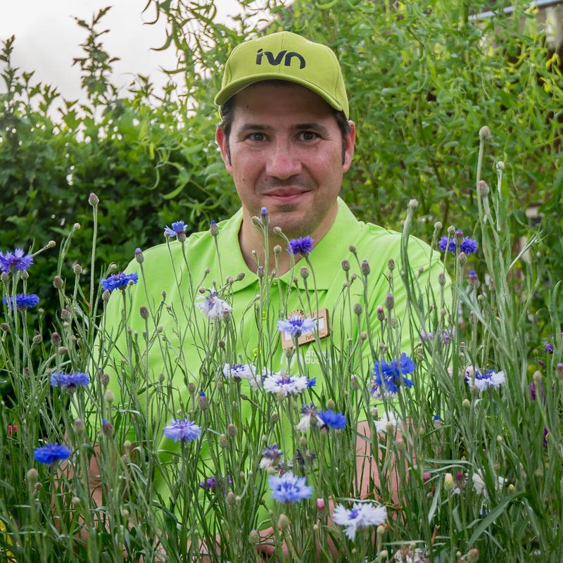 Als IVN natuurgids mag ik nu ook de bijbehorende kleding en badge dragen.