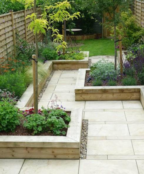 Voorbeelden Van Bestrating Voor Een Kleine Tuin Met 6