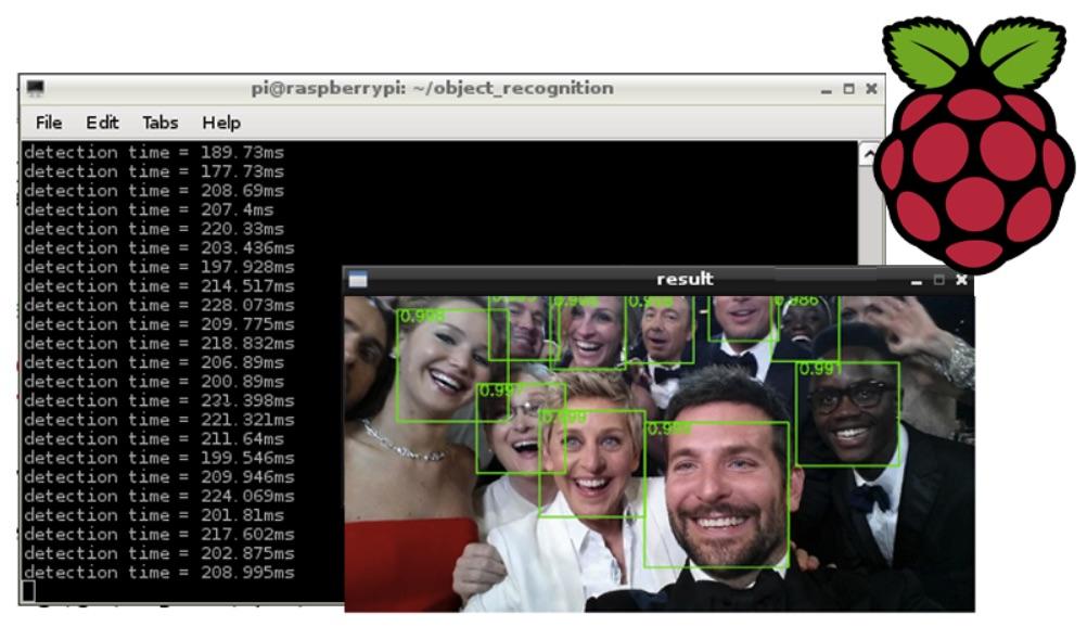 raspberry pi reconocimiento facial