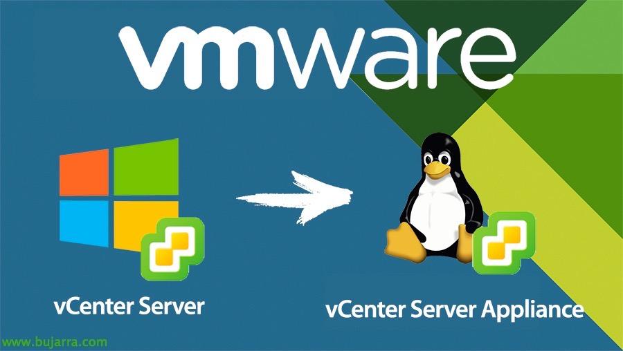 Migrar vCenter Server a vCenter Server Appliance 6.5