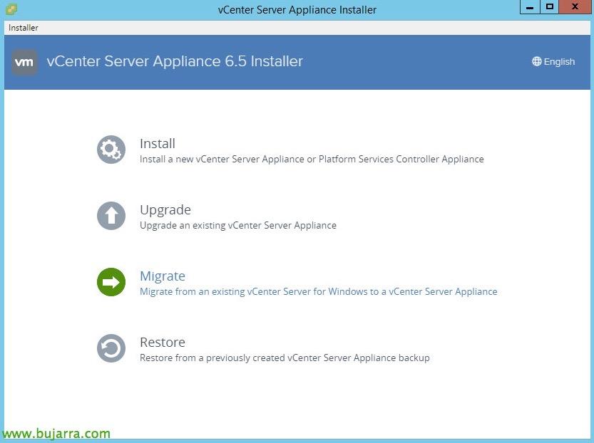 VMware-vCenter-Server-6-migrar-vCSA-65-03-bujarra