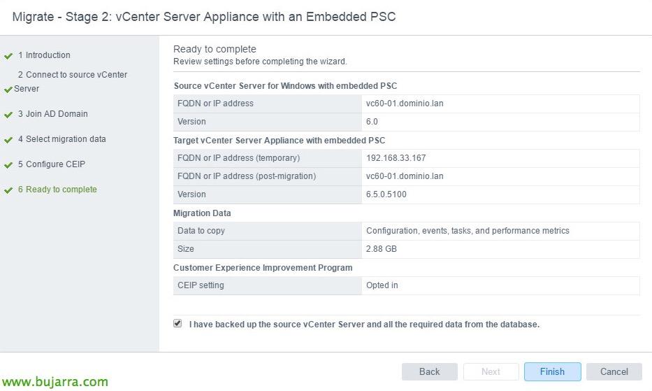 VMware-vCenter-Server-6-migrar-vCSA-65-21-bujarra