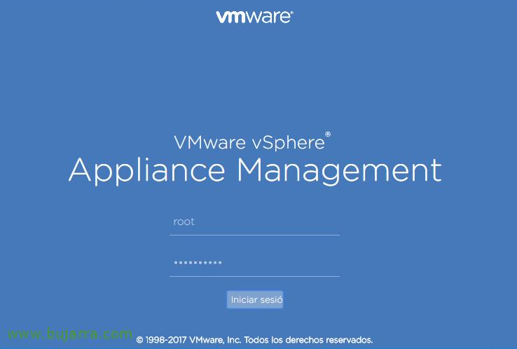 Desplegando VMware vCenter Server Appliance 6.5