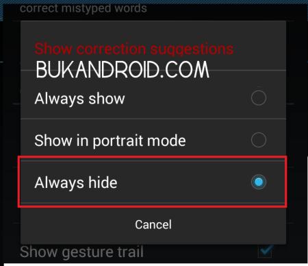 Cara Menonaktifkan Predictive Auto Suggestion Text di Xiaomi