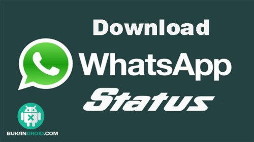 cara download gambar status wa teman