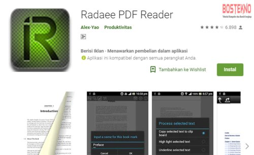 Deretan Aplikasi PDF Reader Android Terbaik 2019