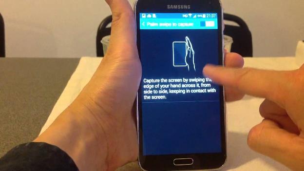 Cara Screenshot di HP Samsung