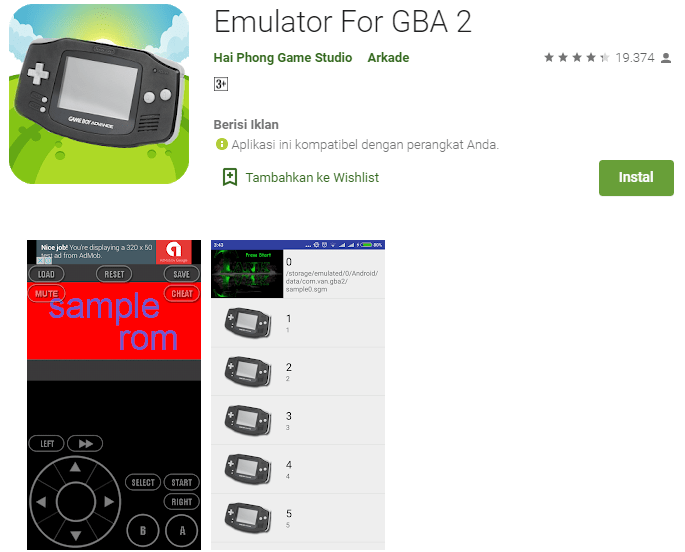 Emulator For GBA 2