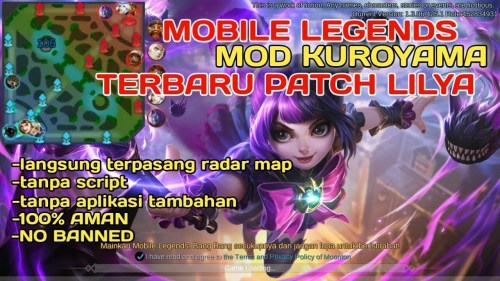Diamond Mod Kuroyama Mobile Legends