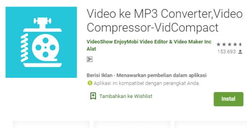 Aplikasi VidCompact