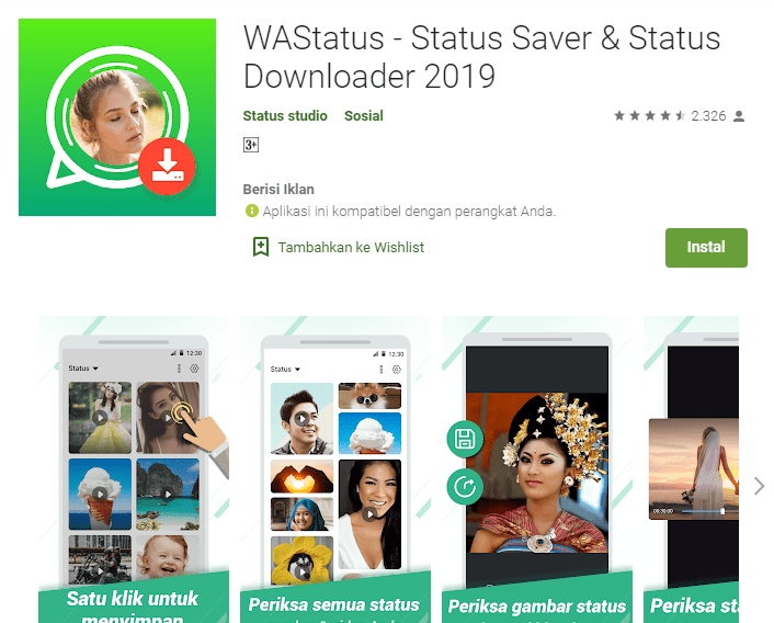 WAStatus - Status Saver & Status Downloader 2019