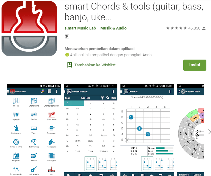 Smart Chords & Tools