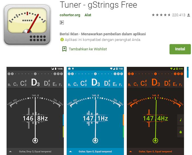 Tuner - gStrings Free
