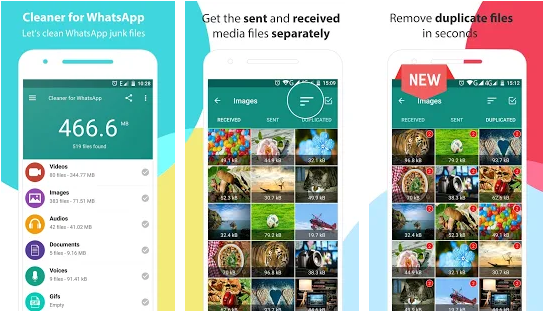 Cleaner for WhatsApp : Pembersih & booster telepon