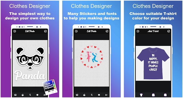 Clothes Designer | T-shirt Design & Clothes Maker