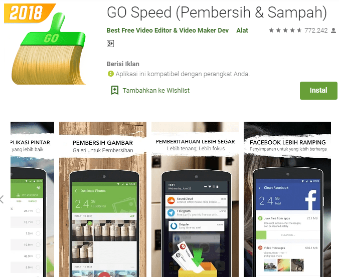 GO Speed (Pembersih & Sampah)