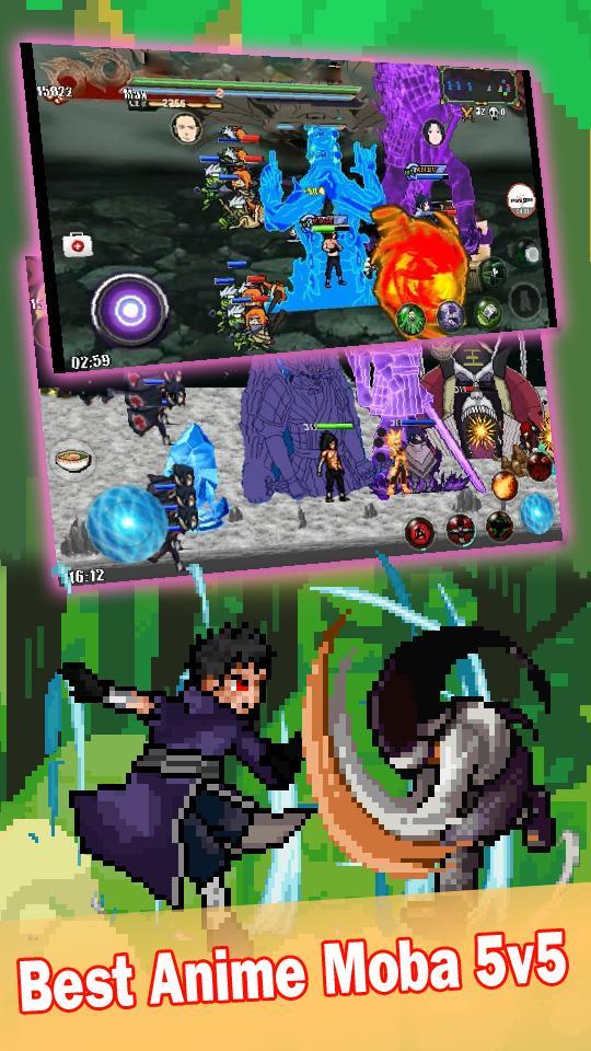 League of Ninja: Pertempuran Moba