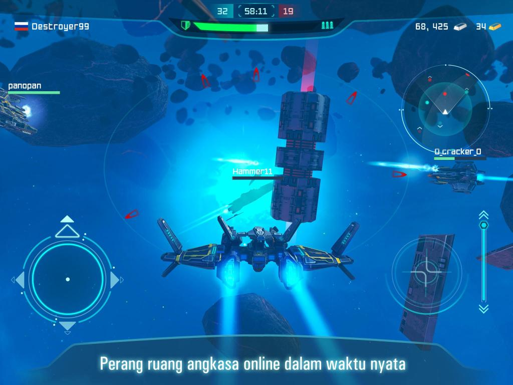 Space Jet: Space ship galaxy game