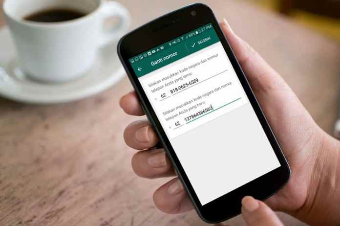 Cara Ganti Nomor WhatsApp Tanpa Menghapus Chat