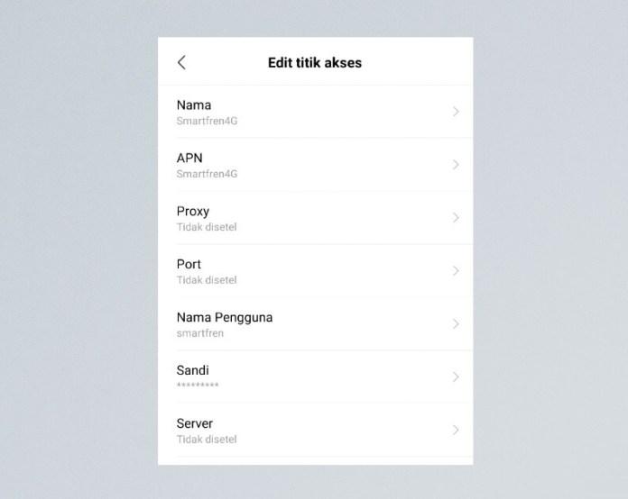 Cara Setting APN Smartfren Tercepat di Android