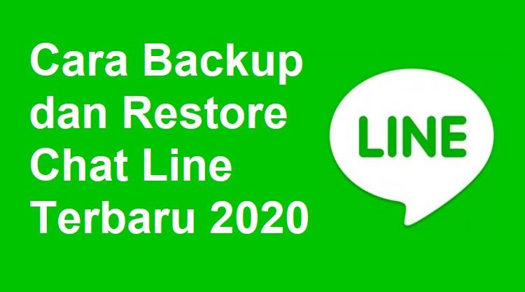 Cara Backup dan Restore Chat Line Terbaru 2020