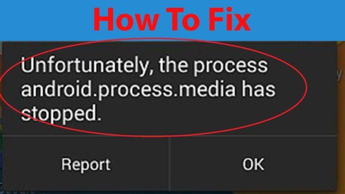Cara Mengatasi Process Media Telah Berhenti