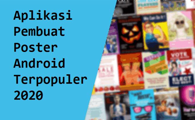 Aplikasi Pembuat Poster Android Terpopuler 2020