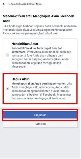 Cara Memblokir Akun Facebook Sendiri