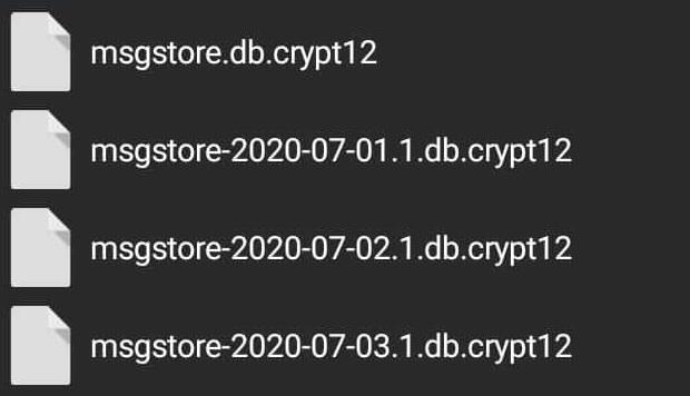 Mengembalikan Chat WA Hilang Lewat File Manager