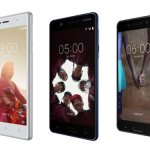 Meet Nokia 3, 5 & 6 Android Smartphone Series with  Finger Print Sensors