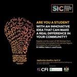 #SIC2018: Student Innovation Challenge 2018 Registration, Prize, Eligibility, Event Schedule.