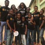 British model Naomi Campbell hangs out with Ikorodu Dance Kids (Dream Catchers)