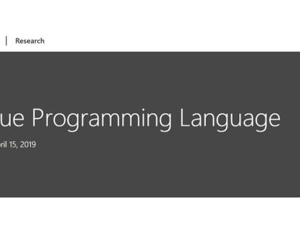 programming language Bosque