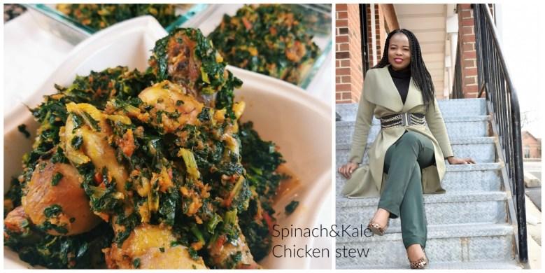 Spinach & Kale Chicken Stew graphic