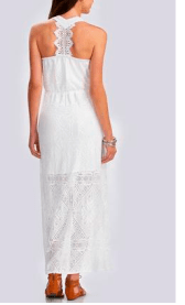 catofashions white dress