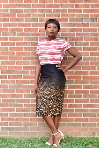 Mix prints outfits graphic