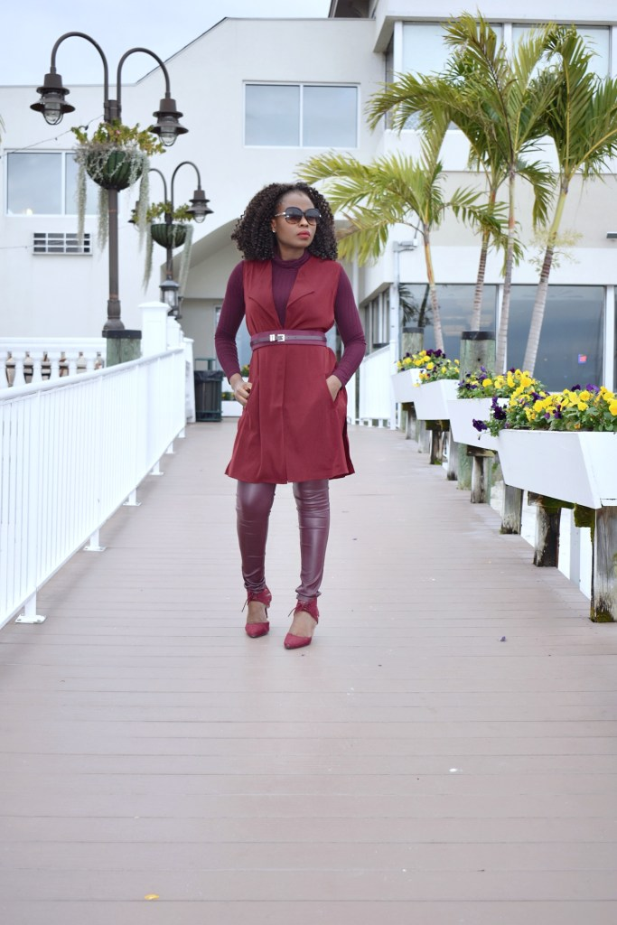 Hues of Burgundy for fall graphic