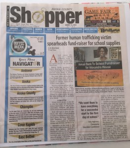 Anoka County Shopper report, Minnesota