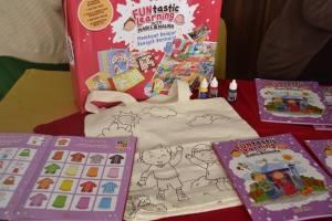 apa isi buku bermain pada funtastic learning