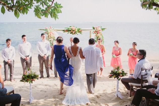 Warwick Fiji Wedding
