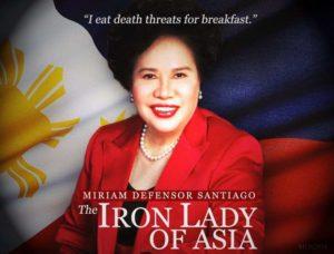 Miriam Santiago - The Iron Lady of Asia