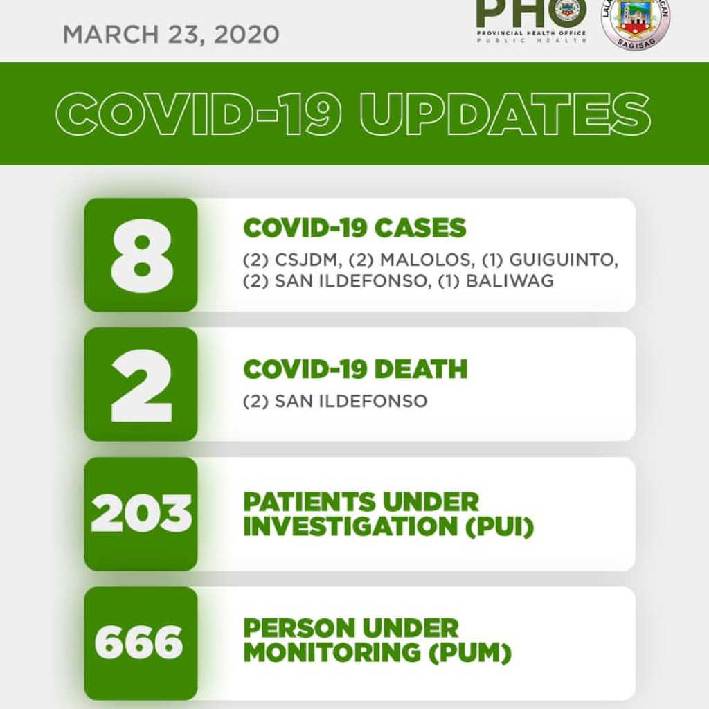 Bulacan COVID-19 Virus Journal Log Book (From First Case up to June 2020) 99