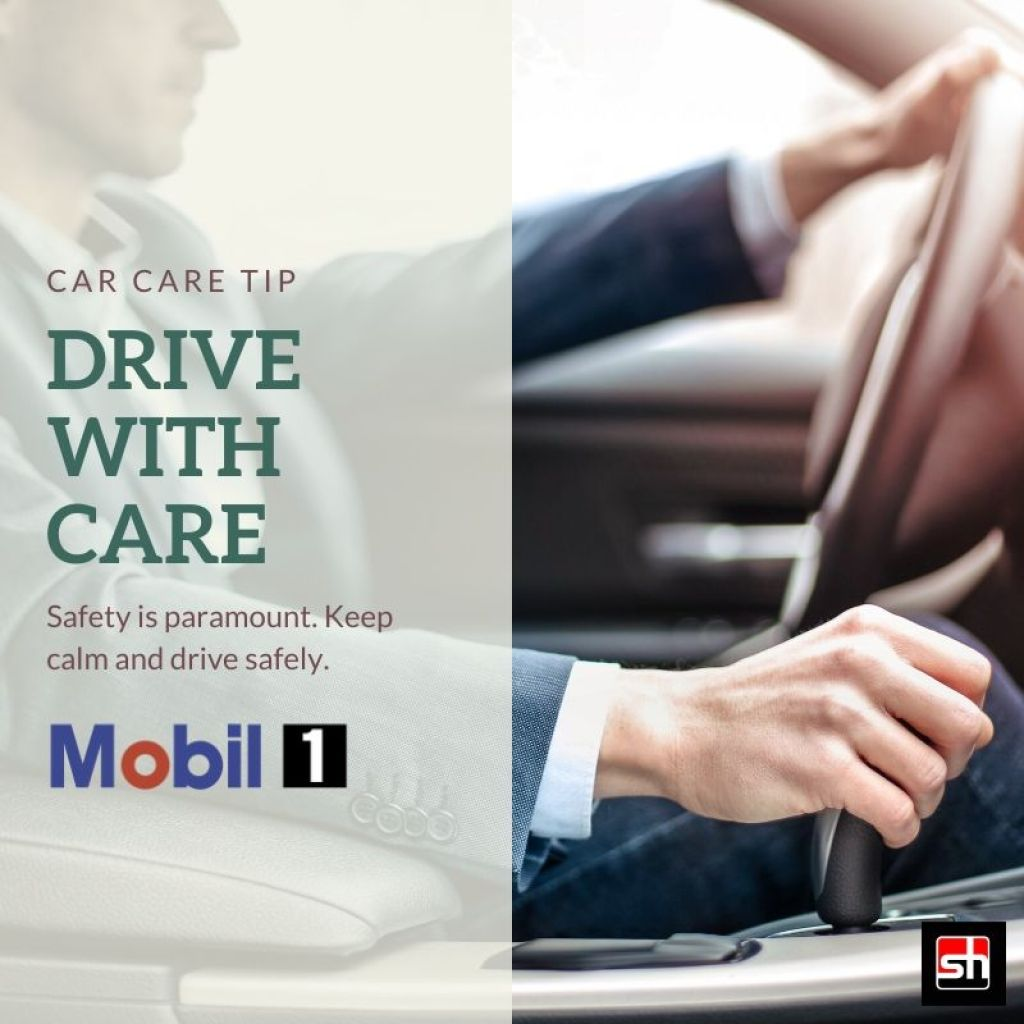 Car Care Tip - Drive with Care