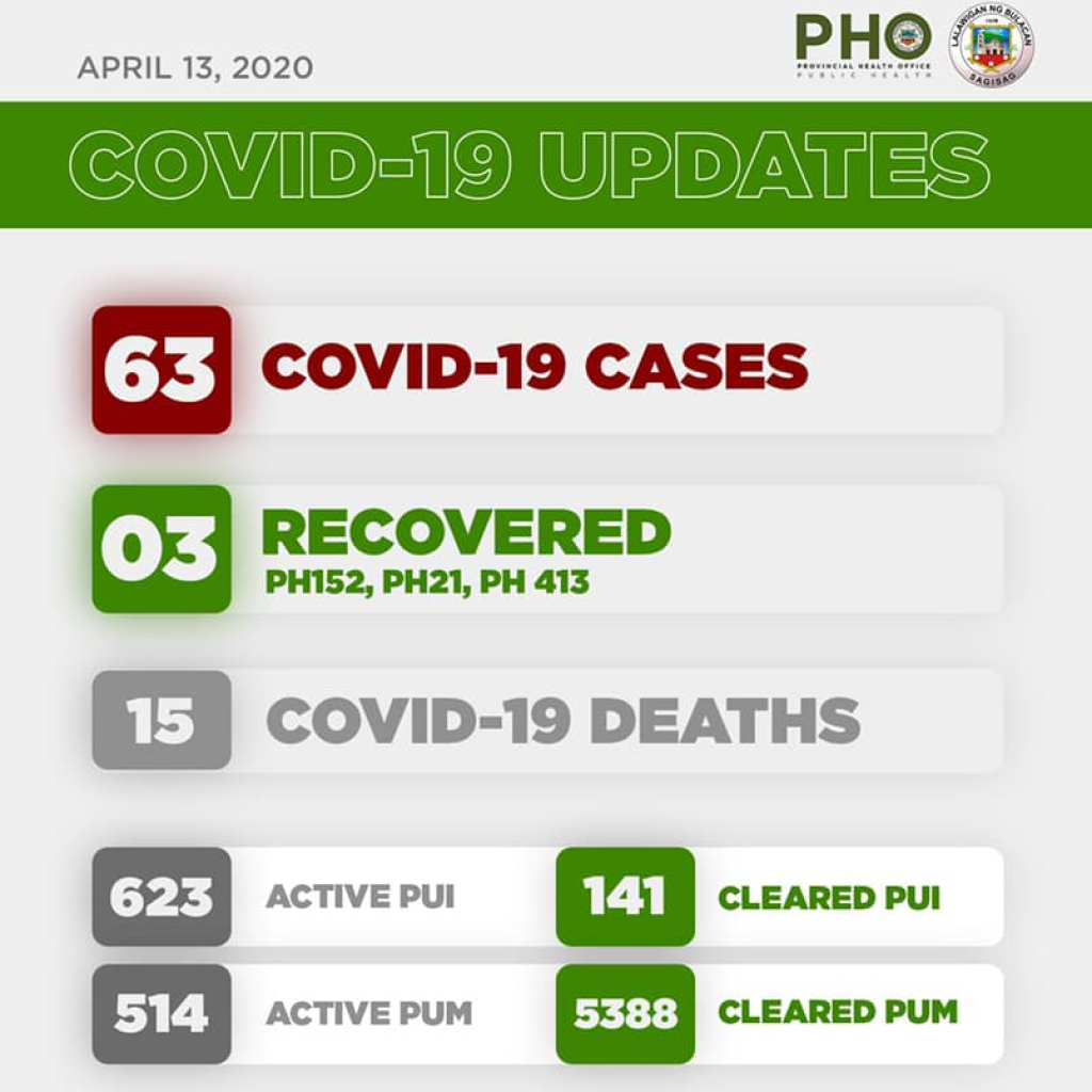 Bulacan COVID-19 Virus Journal Log Book (From First Case up to June 2020) 83