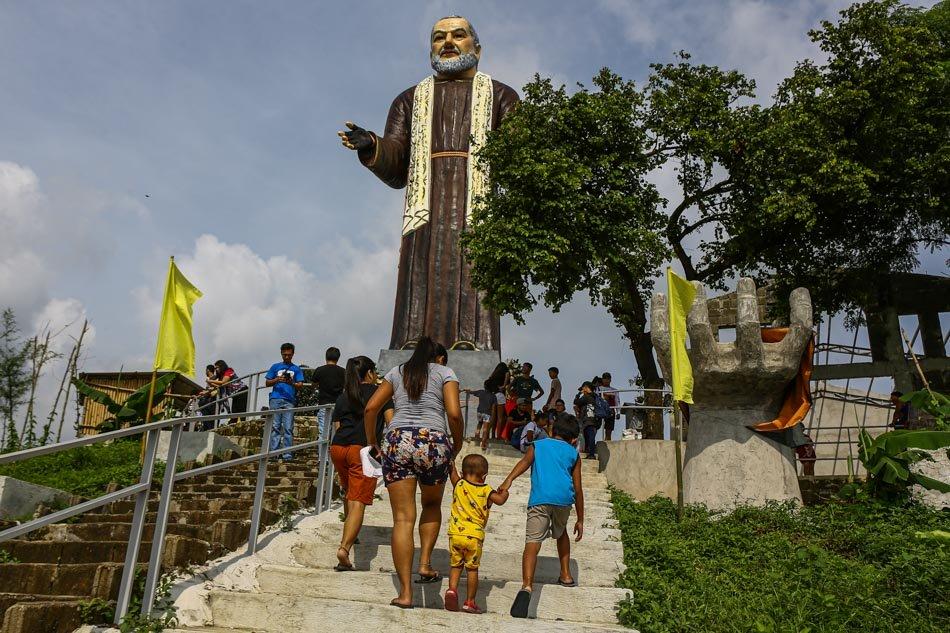 The Huge 50-foot Statue of Padre Pio in Bulacan 2